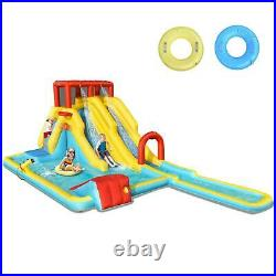 Kids Inflatable Water Park Slide Pool Outdoor Activity Play Center Bouncy Castle