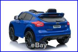 Kids Latest Licensed New Ford Focus Rs Coupe 12v Electric Childs Ride On Car
