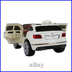 Kids Licensed Bentley Bentayga 12V Battery Electric Ride On Car Toy