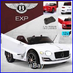 Kids Licensed Bentley GT EXP12 12V Battery Powered Electric Child Ride On Car
