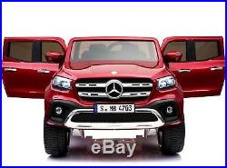 Kids Licensed Mercedes X Class Pickup 24v 4WD Electric / Battery Ride on Car