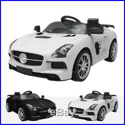 Kids Mercedes SLS Style Supr 12V Electric Motor Battery Operated Ride On Car