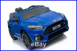 Kids New Licensed Ford Focus RS Sport 12V Battery Electric Ride on Car Toy