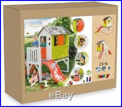 Kids Outdoor Playground Baby Playhouse Garden Toys Playsquare Slide House Smoby