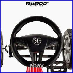 Kids Pedal Go Kart Kids Ride On Manual Pedal Go Kart with Hand Brake Chain Drive