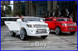 Kids Range Rover Evoque Style 12V Battery Electric Ride on Jeep Car Remote
