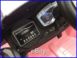 Kids Range Rover Evoque Style 12v Battery Ride On Car Electric Jeep Pink