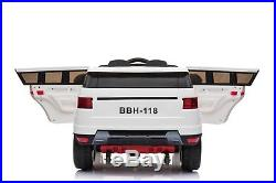 Kids Range Rover Evoque Style Electric Ride on Car Jeep 12V Battery