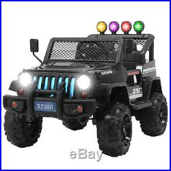 Kids Ride On Car 12V Official Licensed Electric SUV Cars Remote Control 6 Colour