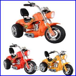 Kids Ride On Motorbike 12V Electric Motorcycle Children Tricycle Harley Style UK