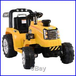 Kids Ride On Truck Tractor Tipping Dumper Electric 12v Battery Children Toys Car