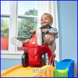 Kids Roller Coaster Toddler Ride On Toys Outdoor Indoor Riding Toy ATV Car Track