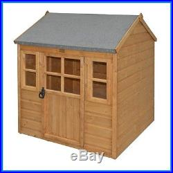 Kids Wooden Play House Outdoor Childrens Garden Childs Shed Summer Set Toddlers