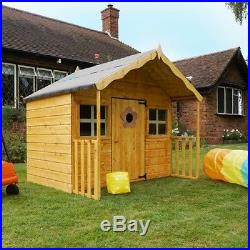 Beau Kids Wooden Playhouse Large Garden Childrens Toys Cottage Outdoor Storage  Shed