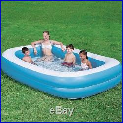 LARGE PADDLING GARDEN POOL KIDS FUN FAMILY SWIMMING OUTDOOR INFLATABLE 2.70 m