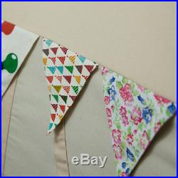 Large Cotton Canvas Kids Boys Girls House Shape Square Teepee Outdoor Tent