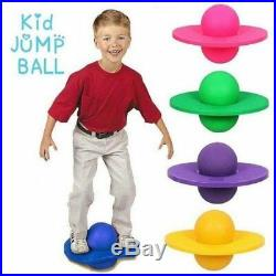 Large Jump N Bounce Space Hopper Retro Ball Adult Kid Outdoor Garden Toy Pogo