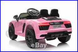 Licensed R8 12v Latest New Audi Kids Ride On Jeep Remote Control Car Door Open