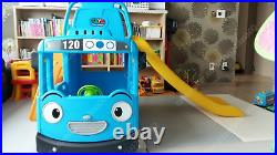 Little Bus TAYO 3-in-1 CLIMB & SLIDE with SWING Full Set for Kids Indoor/Outdoor