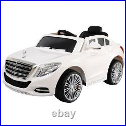 Mercedes-Benz Licensed S600 12V Double Door Electric Kids Ride On Car MP3 RC