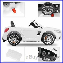 Mercedes Benz SL500 Kids Ride On Car 12V Official Electric Cars Remote Control