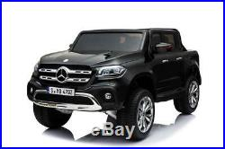 Mercedes Benz X Class Licensed 24v Electric 2 Seat Kids Ride On Jeep EVA Rubber