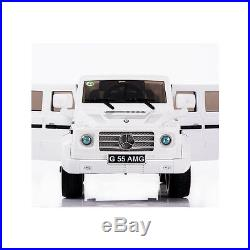 Mercedes G55 12v Electric Kids Ride on Jeep Car with Remote Openable Doors