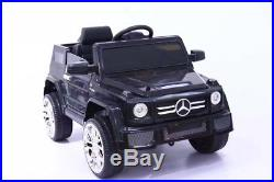 Mercedes G Wagon Kids Electric Ride On 12v Battery Children's Remote Control Car