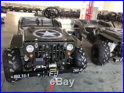 Mini Land Rover, Willys Jeep, off road, Kids jeep, 125cc TOT ROD TRADE RATE