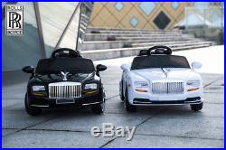 NEW 2018 Kids 12V Rolls Royce Style Ride on Sports Car MP3 Opening Doors
