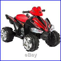NEW Kids 12v Quad Bike Child Toy Electric Battery Powered Ride Sit On Car Black