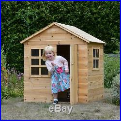 NEW Kids Large Wooden Playhouse Outdoor Garden Fun For Children Big Play House