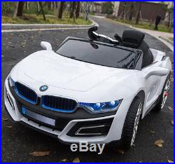 New Style 2017 Kids Ride On 12v Sport Bmw I8 Style Electric Battery