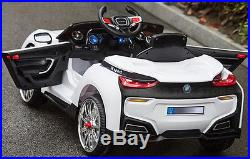 NEW STYLE 2017 KIDS RIDE ON 12V SPORT BMW i8 STYLE ELECTRIC BATTERY R/C CAR JEEP