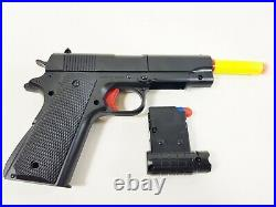 NEW Soft Bullet Electric Army Military Fancy Dress Kids Army Toy Hand Gun Model