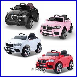New 12V Battery BMW X5 Style Electric Kids Ride On Car Jeep Parental Control