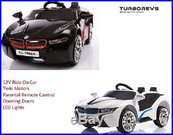 New 12v Kids Electric Battery Bmw I8 Type Ride On Car 2.4g Remote Control