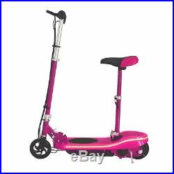 New 2018 Model Kids Electric E Scooter With Seat And LED Lights Matching Frame