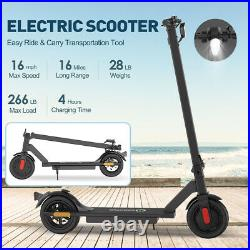 New Adult Kids Electric Scooter Folding Kick E-scooter With Double Brake