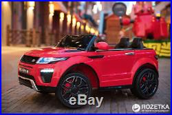 New Evoque Style 12v Kids Ride on Electric Toy Car with Remote Red