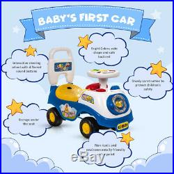New My First Ride On Kids Toy Car Boys Girls Push Along Toddlers Infants Walker