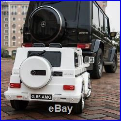 Official 12V Upgraded Benz G55 Luxury Kids Powered Ride On Car RC /Door Open