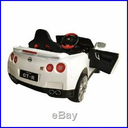 Officially Licensed Nissan GTR Kids Electric 12V Ride On Car RUBY RED