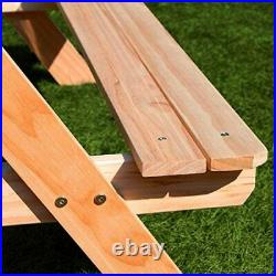 Outdoor Picnic Bench Sand Pit & Water Table Garden Furniture Childrens Kids Play