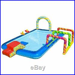 Outdoor Summer Fun for Kids Party Water Park Center Inflatable Water Pool Slide