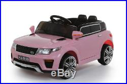 Pink Mini Range Rover 12V Kids' Electric Toy Ride On Car