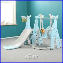 Playground Swing Set Kids Slide Play Center Baby Toddler Indoor Outdoor Toy Gift