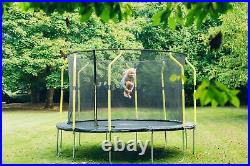 Plum Trampoline 8 ft Kids Trampoline With Enclosure Small Trampoline Wave