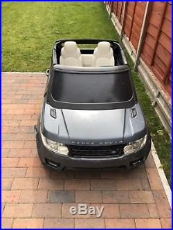 Range Rover Sport Style 12v Electric Battery Ride On Jeep Car Kids Childrens Toy
