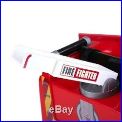 RiiRoo 6V Fire Engine Truck Kids Battery Ride On Car Truck Fire Rescue & Remote